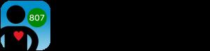 HealthMetric app black logo